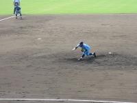 2014-07-22 力投する村上選手