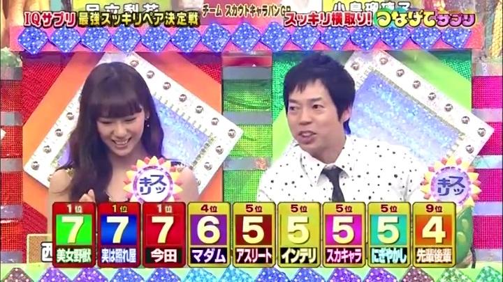 12代目【GTO】葛城美姫IQサプリ】で大活躍!つなげて、横取りで同点(?)首位!