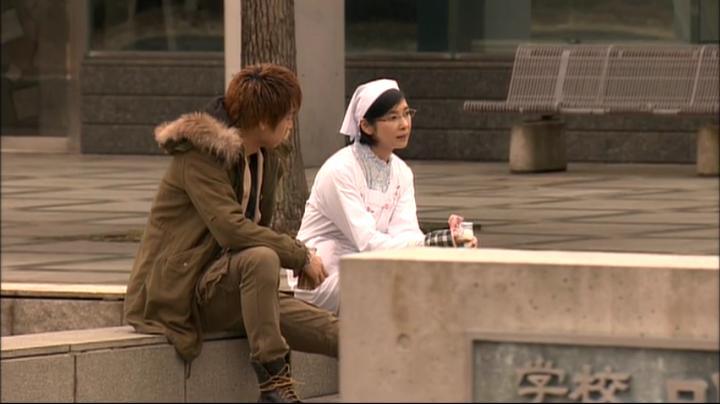 2代目【GTO】第2部第3話、卒業SPで鬼塚の相談に乗る桜井理事長