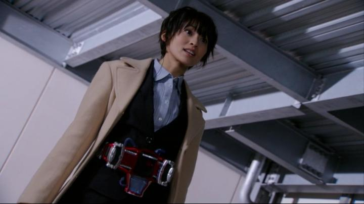 【仮面ライダー鎧武】此れが史上初の女性ライダー、マリカと変身だ!!