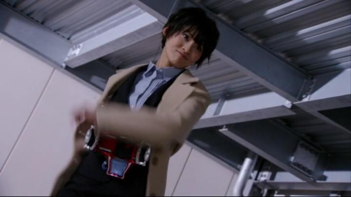 【ライダー鎧武】此れがライダーマリカと変身だ!!腕を回し