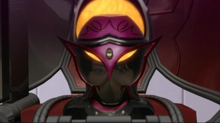 【ライダー鎧武】此れがライダーマリカと変身だ!!顔の完成前