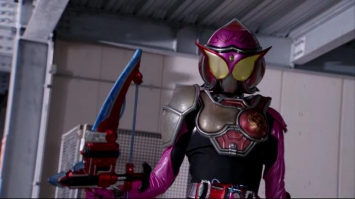 【ライダー鎧武】此れがライダーマリカと変身だ!!マリカの全身