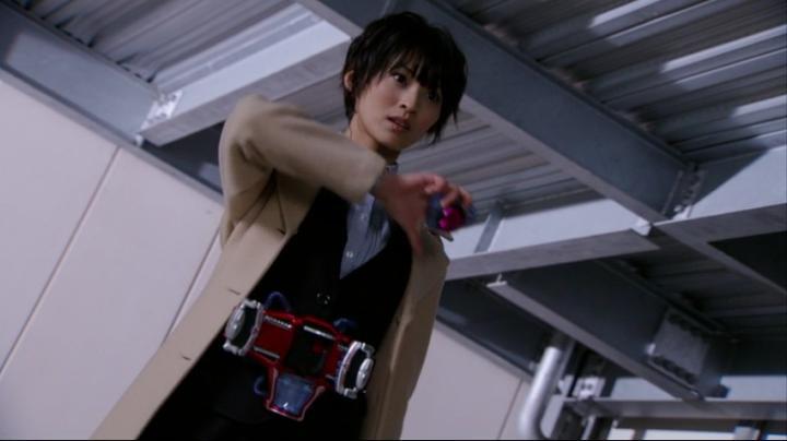 【ライダー鎧武】此れがライダーマリカと変身だ!!変身前