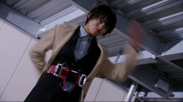 【ライダー鎧武】此れがライダーマリカと変身だ!!腕を回し2