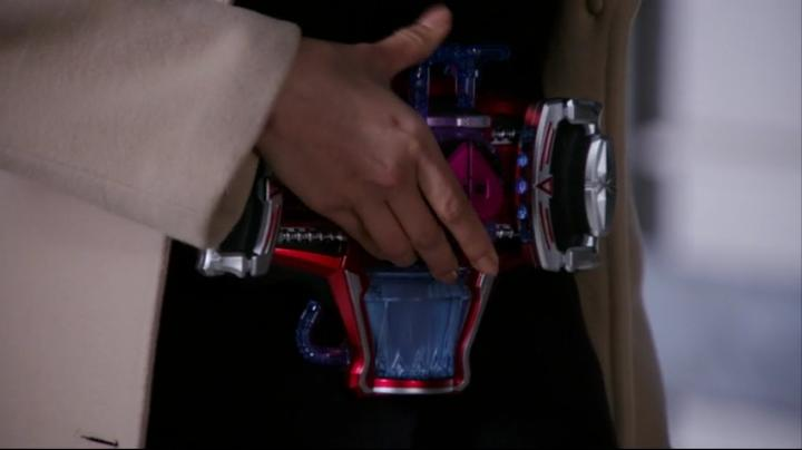 【ライダー鎧武】此れがライダーマリカと変身だ!!ベルトにアイテム装着1