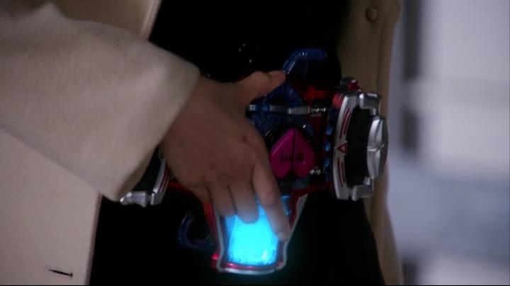 【ライダー鎧武】此れがライダーマリカと変身だ!!ベルトにアイテム装着2