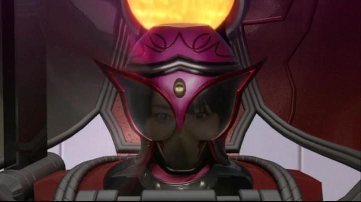 【ライダー鎧武】此れがライダーマリカと変身だ!!マリカのマスクアップ3