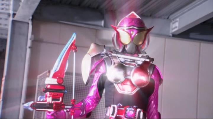 【ライダー鎧武】此れがライダーマリカと変身だ!!マリカの完成前3
