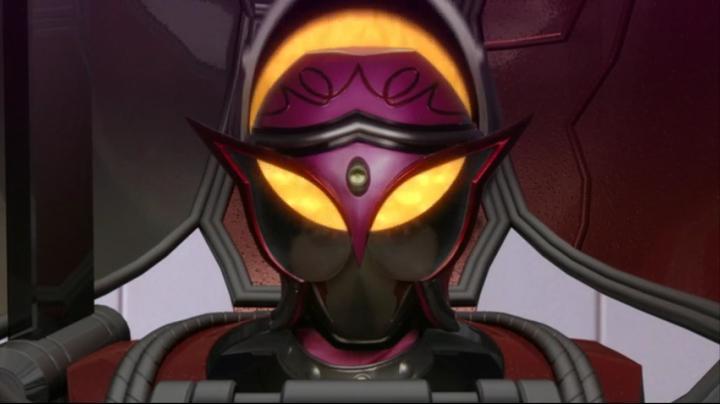 【ライダー鎧武】此れがライダーマリカと変身だ!!マリカのマスクアップ4