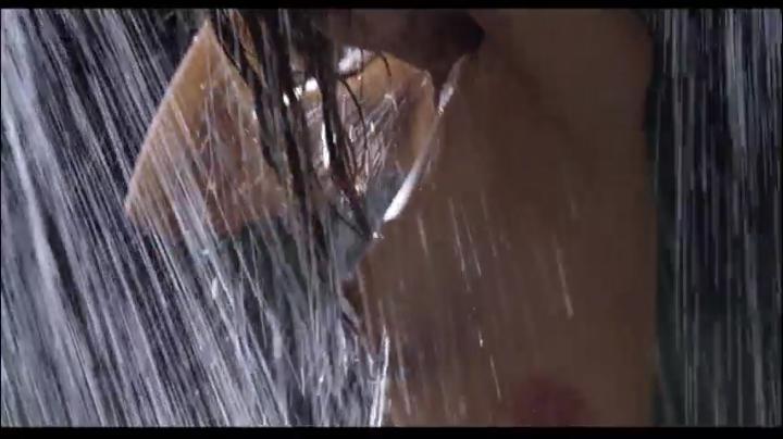 【555】園田真理が赤×ピンクでヌード&濡れ場…しかし…シャワーで横乳首