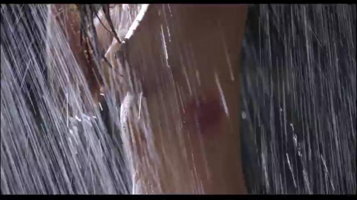 【555】園田真理が赤×ピンクでヌード&濡れ場…しかし…シャワーシーン5