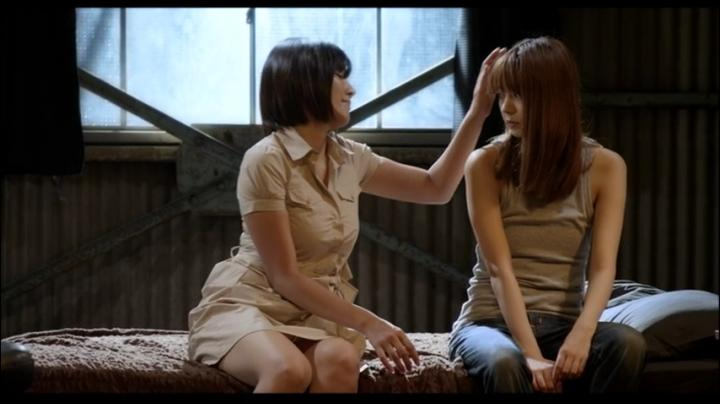 【555】園田真理が赤×ピンクでヌード&濡れ場…しかし…2レズ会話