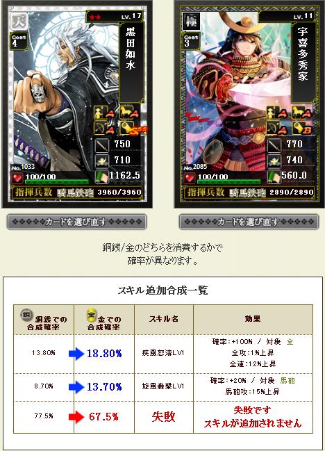 旋風チャンス!