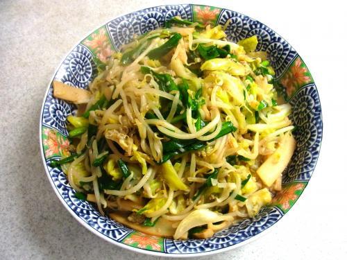 140309-221野菜とメンマの炒め(S)