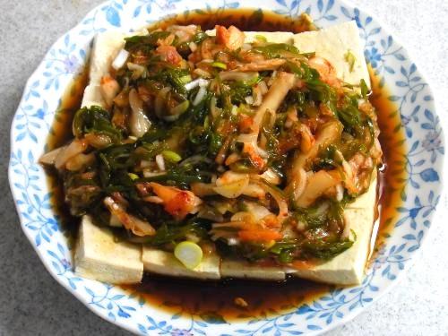 140322-231めかぶキムチ豆腐(S)