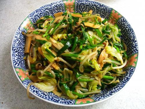 140525-221野菜とメンマの炒め(S)