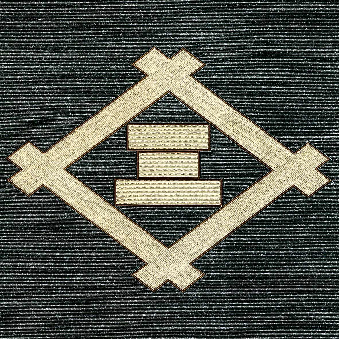 井桁に角三文字
