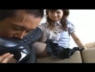 【無修正】黒パンストお嬢様の蒸れ蒸れブーツ責め 岡友紀奈(xHamster)