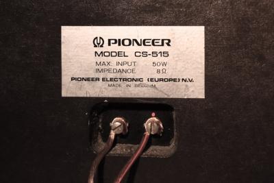 Pioneer SC-515 スピーカー