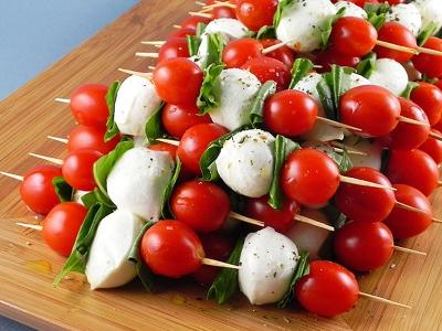 串刺し トマト