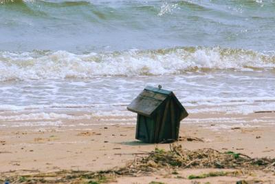 漂流物 海 海岸