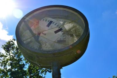 壊れる 時計 干す