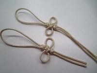 余った紐で組み紐