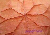 モシ つまみ縫い