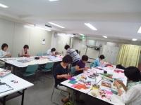 中国新聞 ポジャギ教室