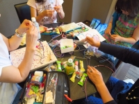 広島 ポジャギ教室 組み紐