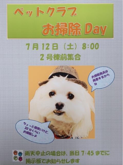 お掃除Day