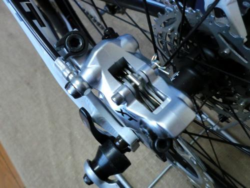 油圧ディスクブレーキのセンタリング調整・2