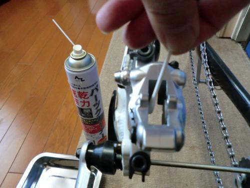 油圧ディスクブレーキのセンタリング調整・8