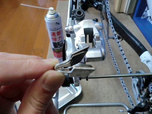 油圧ディスクブレーキのセンタリング調整・11