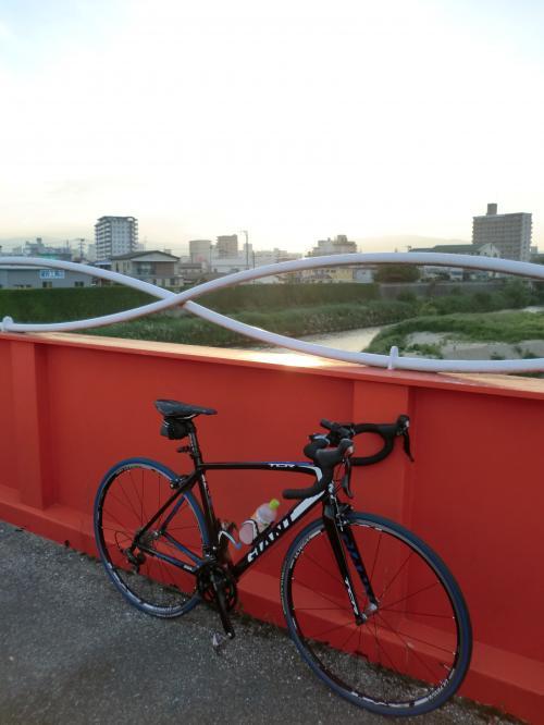 ロードバイク通勤・2