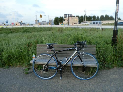 ロードバイク通勤・3