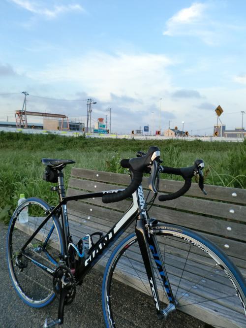 ロードバイク通勤・1