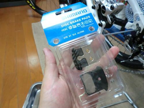 F03Cディスクブレーキパッド・6