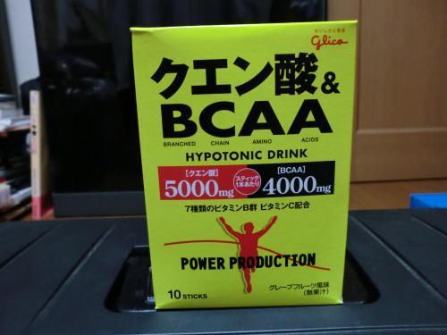 グリコのクエン酸・BCAA
