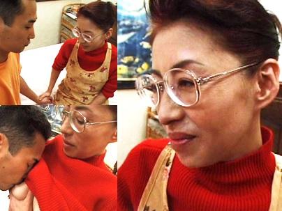 【無修正】 宮下真紀子 昭和のお母さんに息子が大量のザーメンを発射