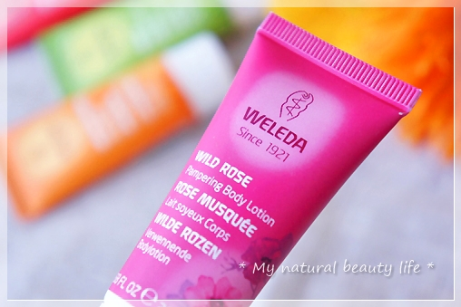 Weleda, Pampering Body Lotion, Wild Rose