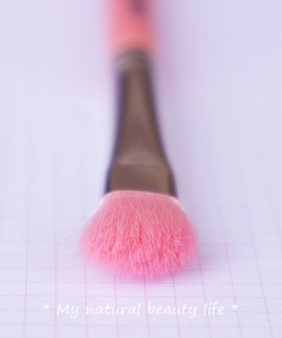 Bdellium Tools, Pink Bambu Series, Eyes 766 Angled Shadow Brush