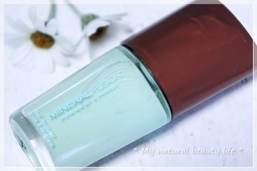 Mineral Fusion, Nail Lacquer, Glint of Mint