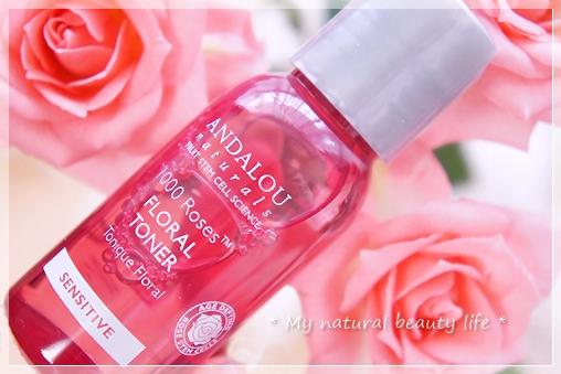 Andalou Naturals, Floral Toner, 1000 Roses, Sensitive