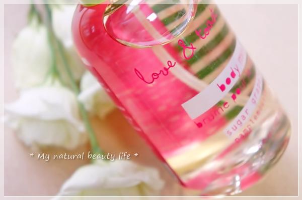 Love & Toast by Margot Elena, Sugar Grapefruit Body Mist