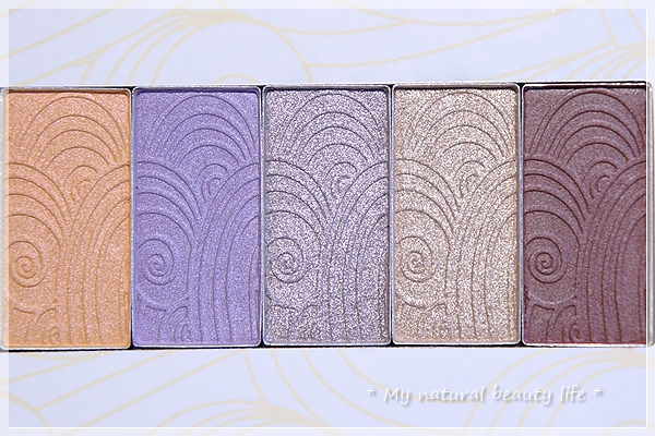 Pacifica Perfumes Inc, Natural Minerals, Charmed, Shadow Palette, Coconut Infused Mineral Eye Shadows