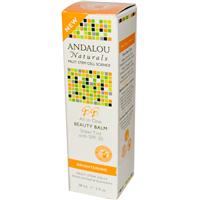 Andalou Naturals, Beauty Balm, Sheer Tint with SPF 30, Brightening