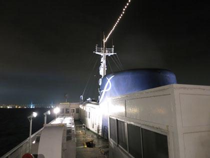 009甲板へ