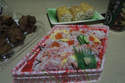 121松山での晩飯